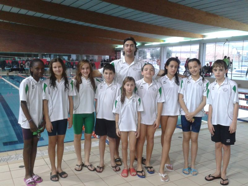 El CEACA Tàrrega va participar en la IX Trobada de mini handbol que va tenir lloc a Guissona