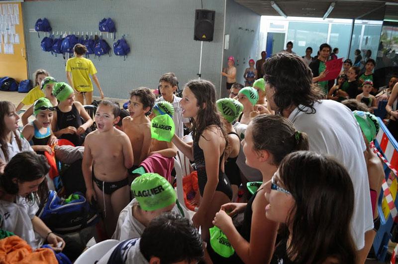 El Club Natació Tàrrega participa en el Trofeu de Reis a la piscina del CN Lleida