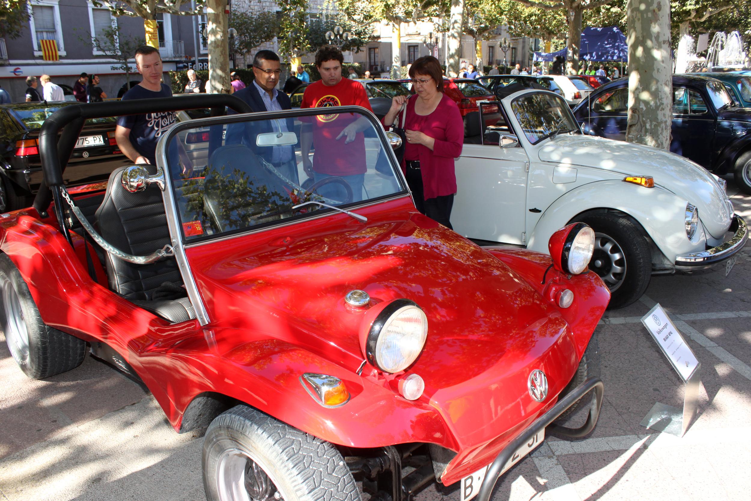 Tàrrega exhibeix models mítics de les marques Volkswagen i Derbi dins la 5a Fira de Vehicles Antics i Clàssic