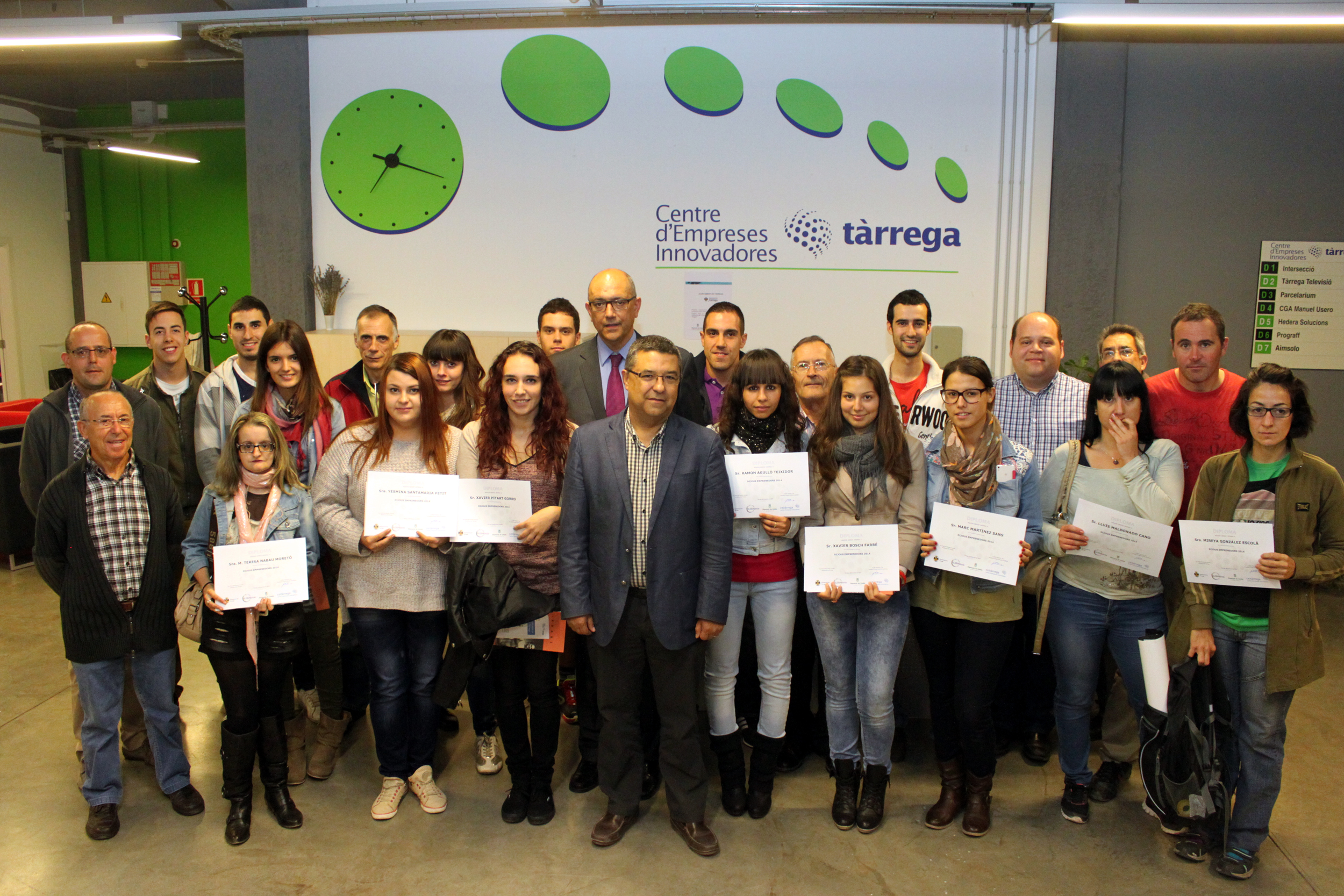 L'Ajuntament de Tàrrega ampliarà el seu viver d'empreses l'any 2015 amb ajuts europeus