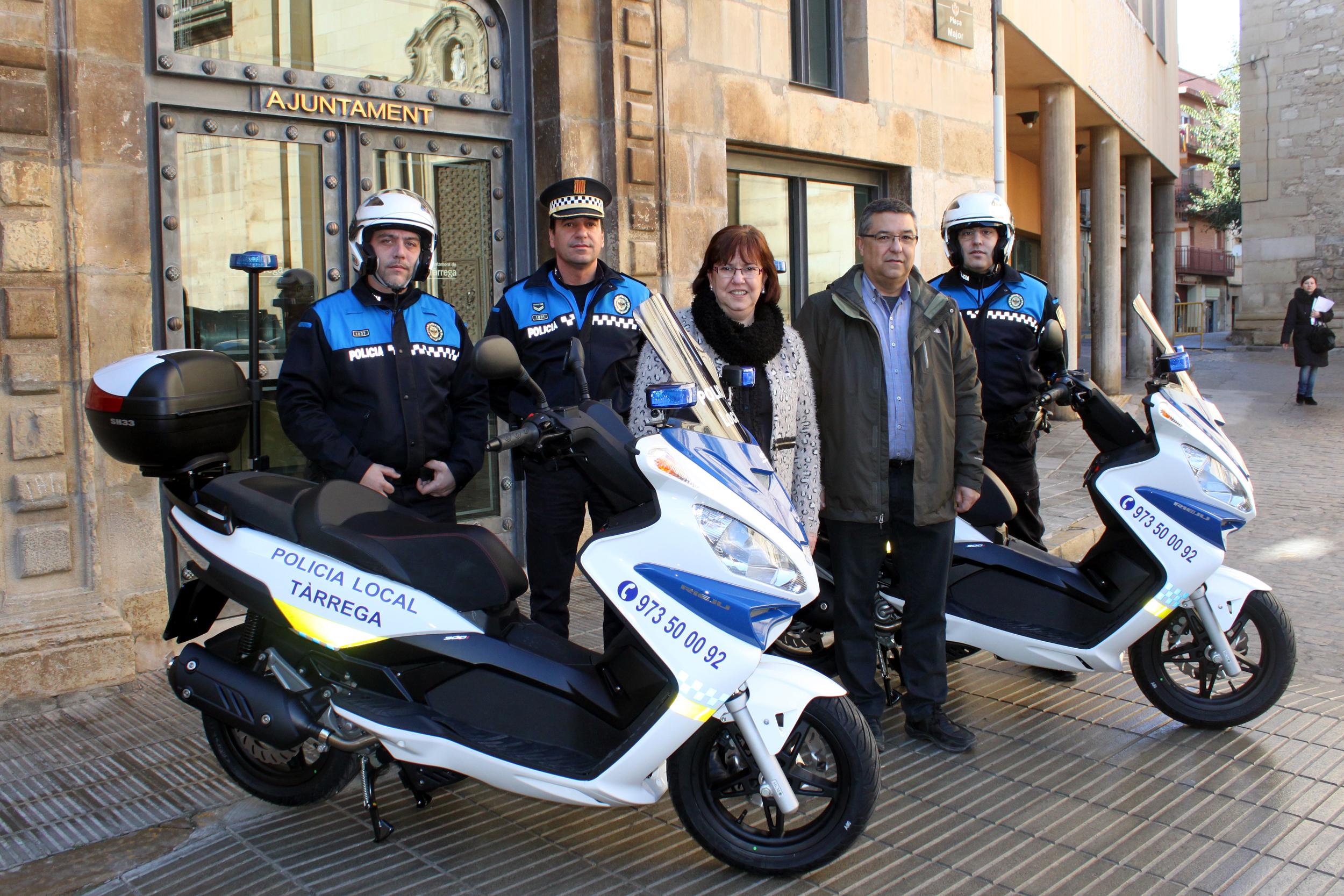 L'Ajuntament de Tàrrega inverteix 17.000 euros en la renovació de parc mòbil i utillatge de la Policia Local