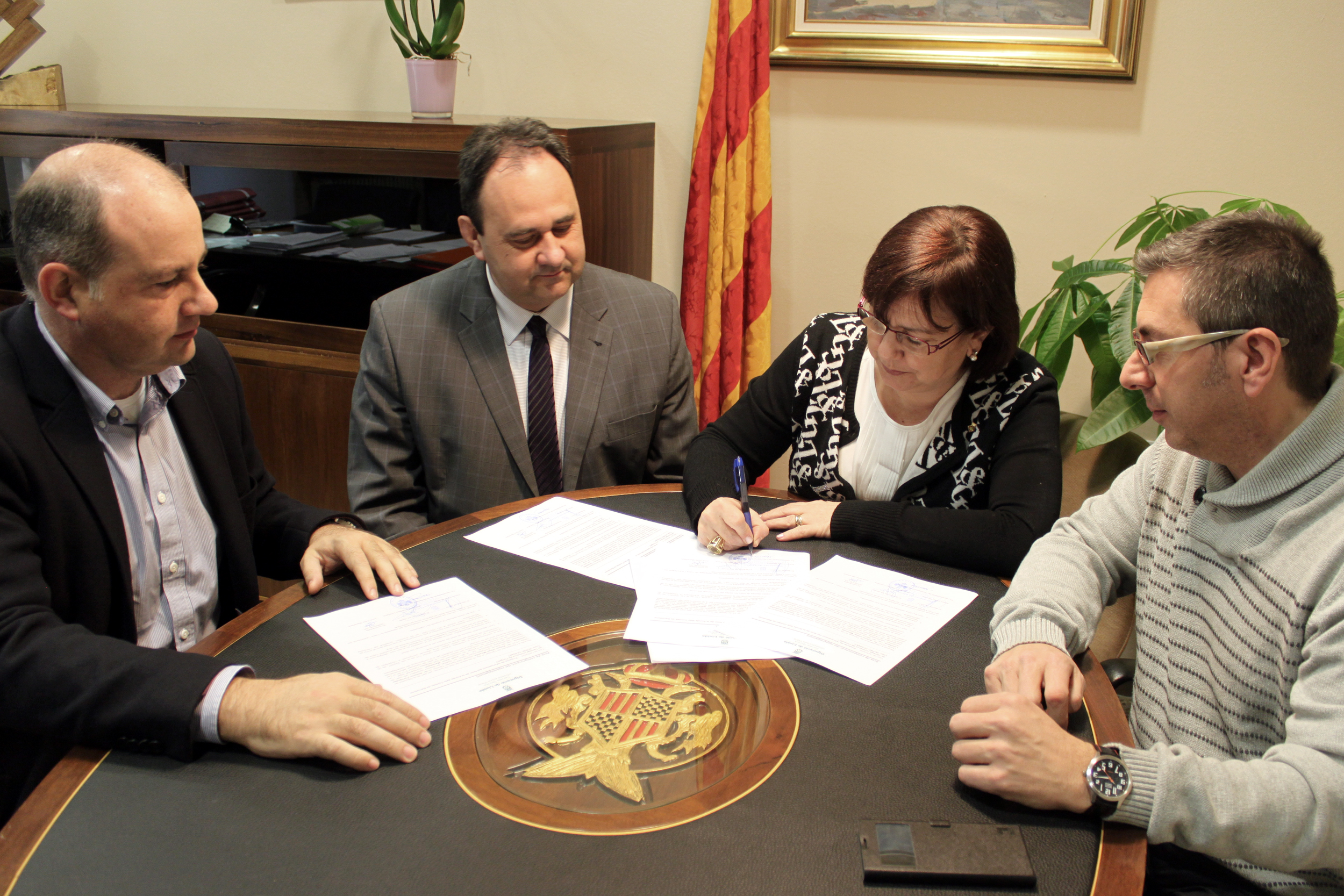 El mes vinent iniciaran la renovació del ferm de la Ronda dels Comtes de Barcelona, finançada per la Diputació de Lleida