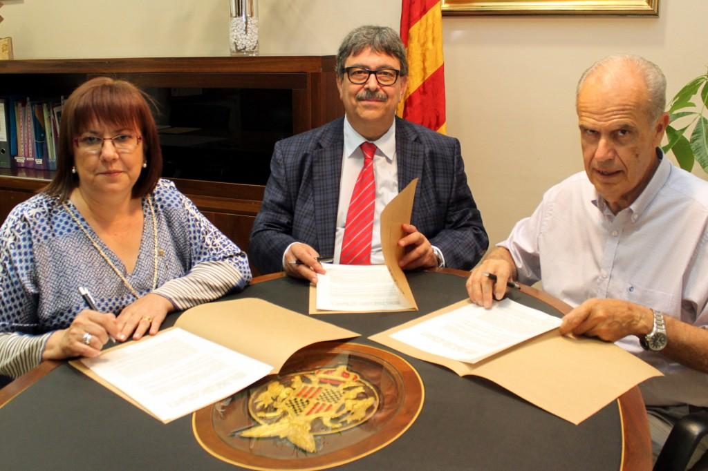 Signatura del conveni foment targari 1