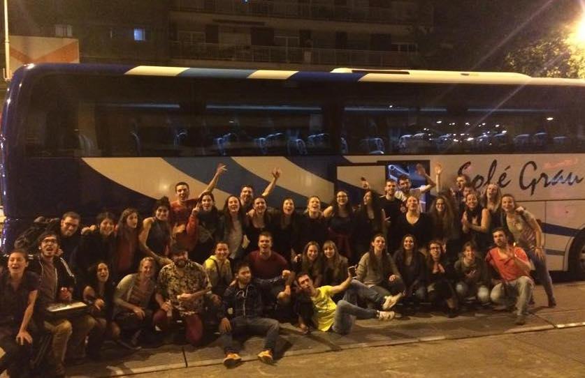 El servei d'autocars nocturns de l'Agrat creix un 85% i visita 13 Festes Majors amb 950 passatgers