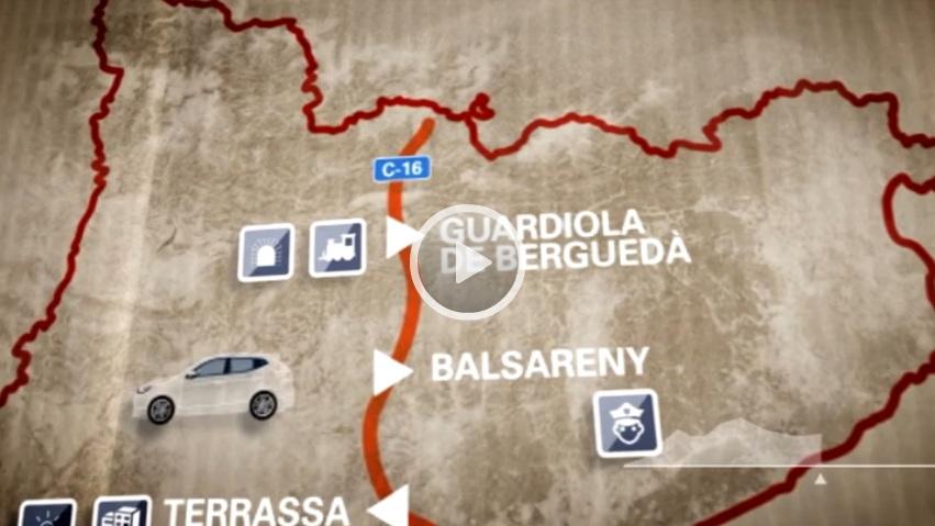 """El """"Carreteres"""" de La Xarxa dedicat a la C-16 fa parada a Guardiola de Berguedà, Balsareny, Terrassa i Sant Cugat"""