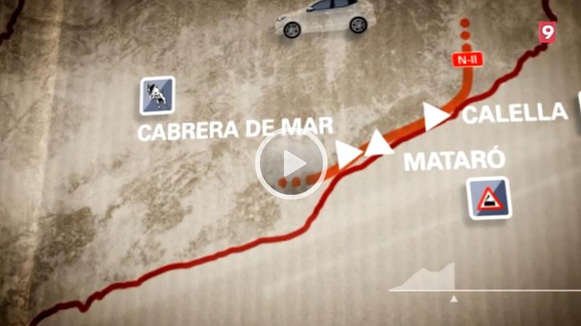 """El """"Carreteres"""" de La Xarxa dedicat a la N-II visita Calella, Mataró, Cabrera de Mar i Montgat"""