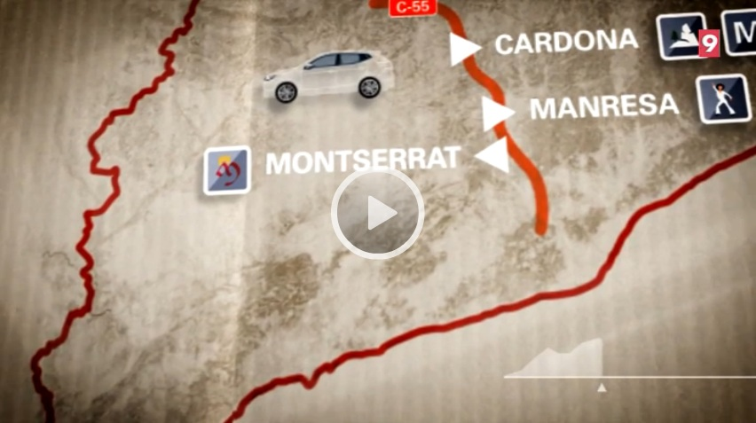 """El """"Carreteres"""" de La Xarxa dedicat a la C-55 fa parada a Cardona, Manresa, Montserrat i Esparreguera"""