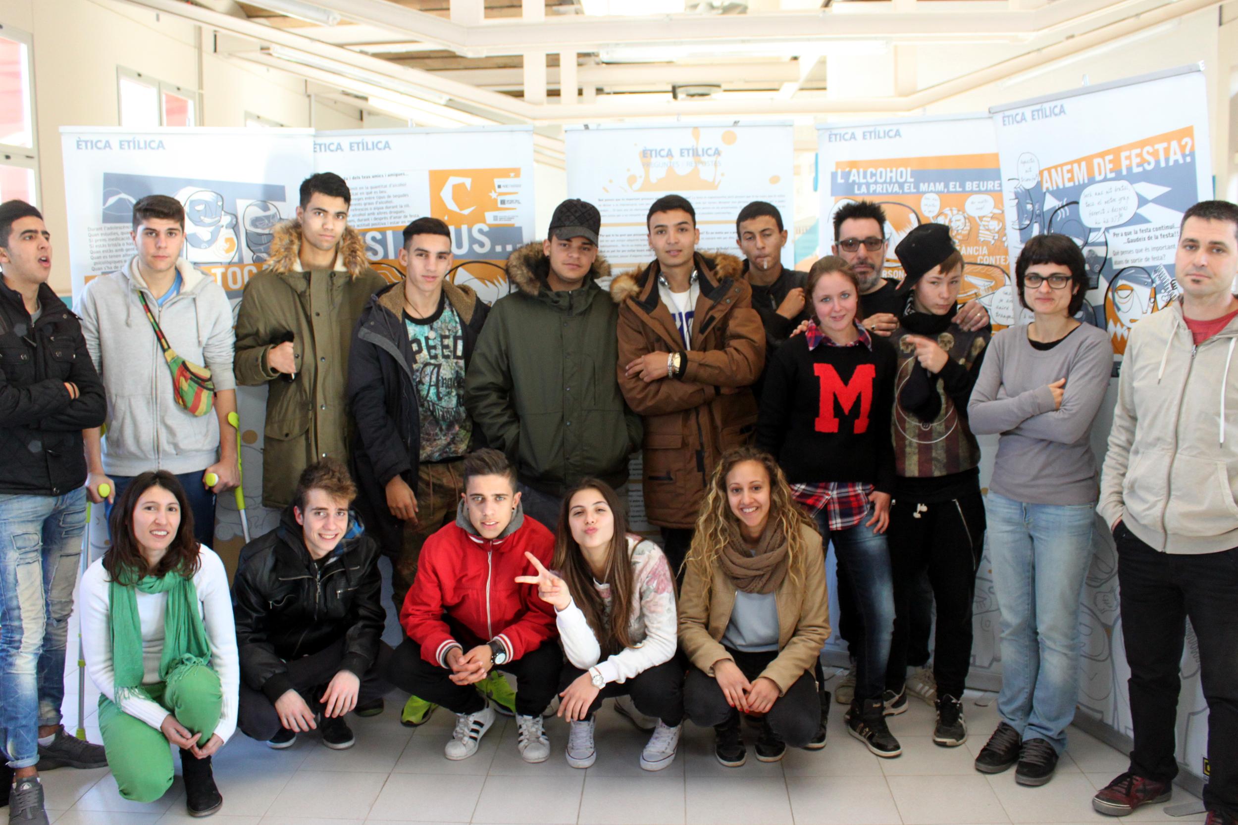 Tàrrega rep la visita de joves estudiants alemanys per fer pràctiques de formació