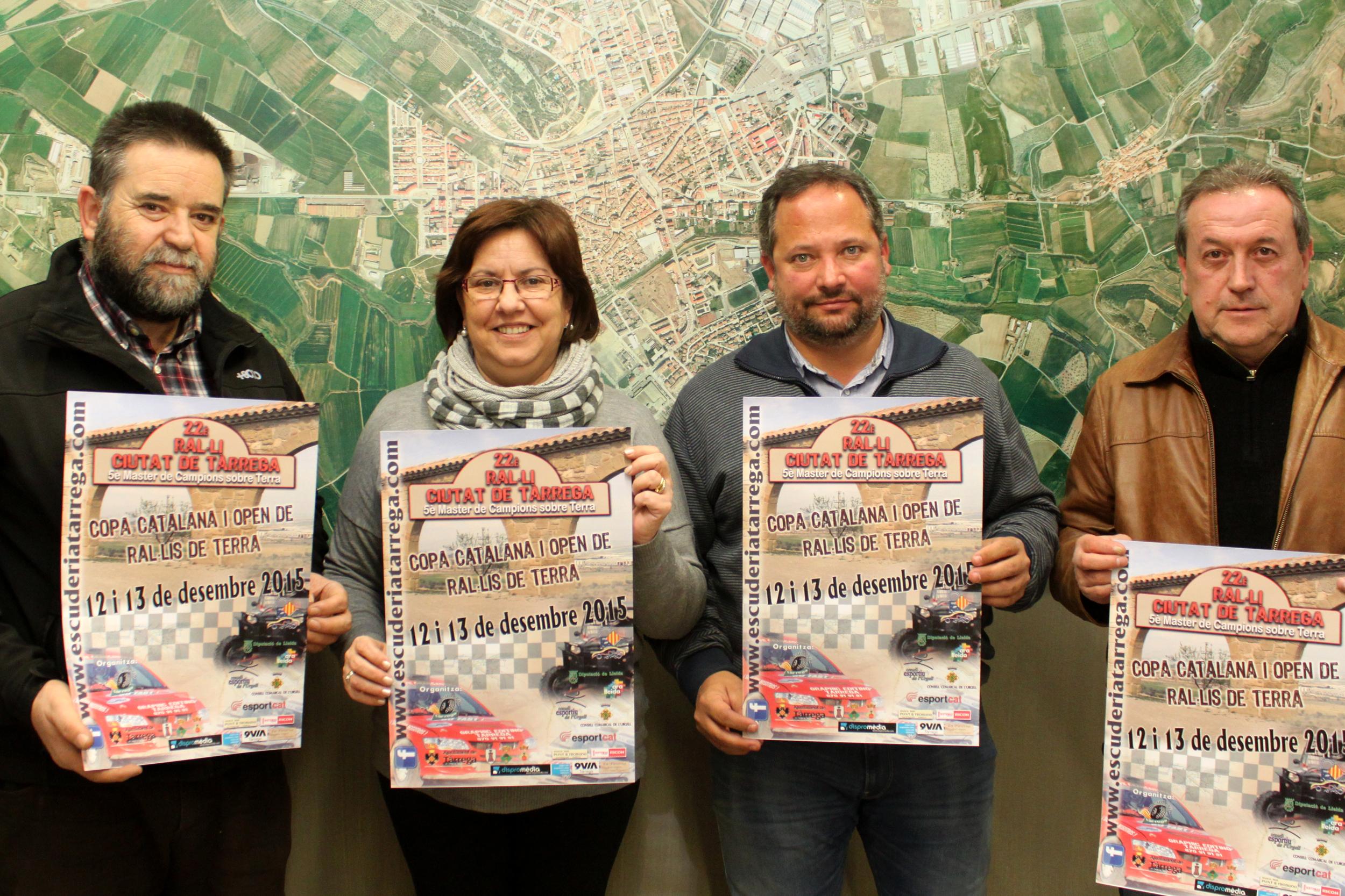 El 22è Ral·li Ciutat de Tàrrega aplega aquest cap de setmana una vintena d'equips en un traçat entre l'Urgell i la Segarra