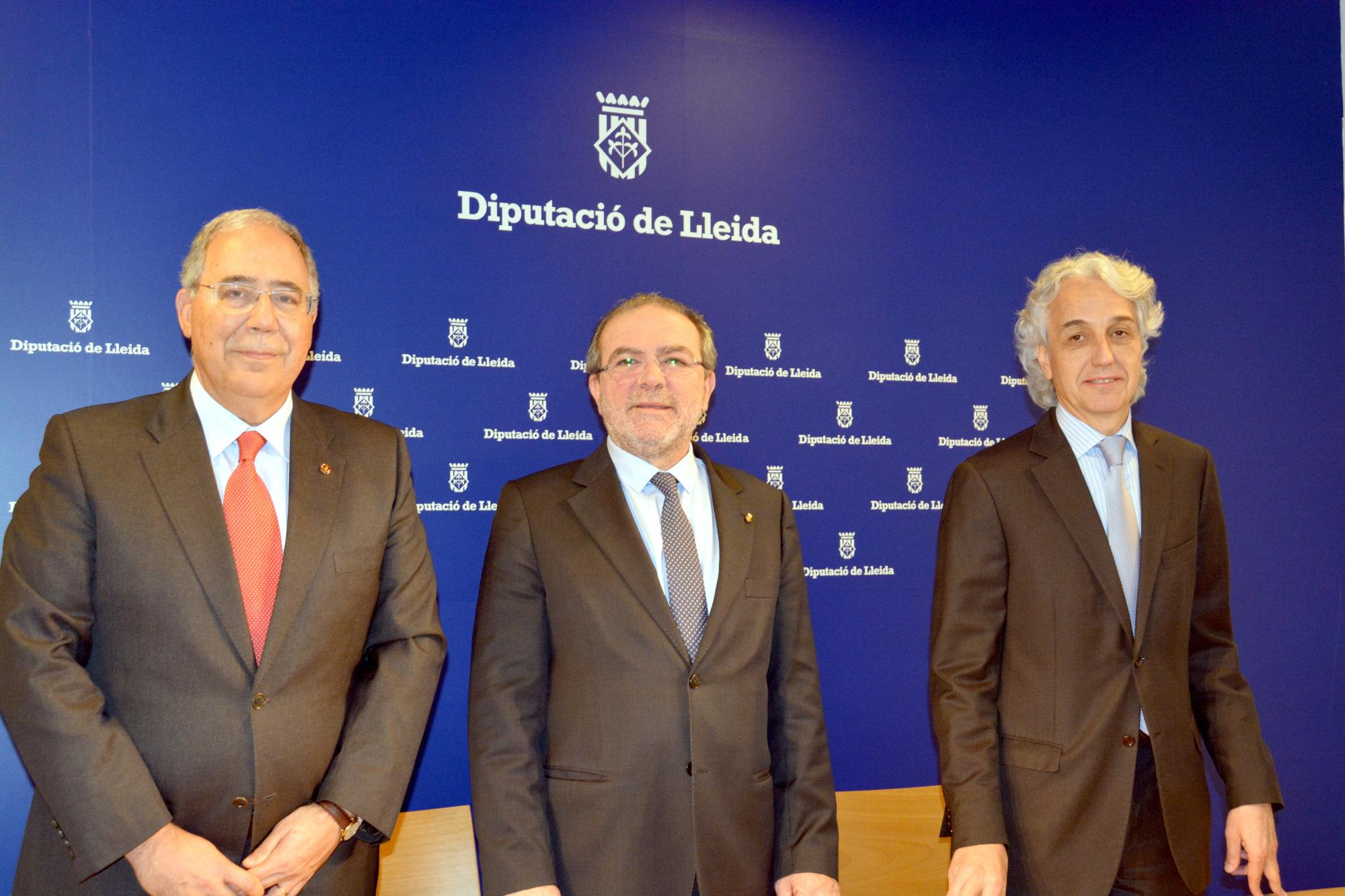 Acord entre la UdL i la Diputació de Lleida per al desplegament del doble grau de Veterinària i Ciència i Producció Animal