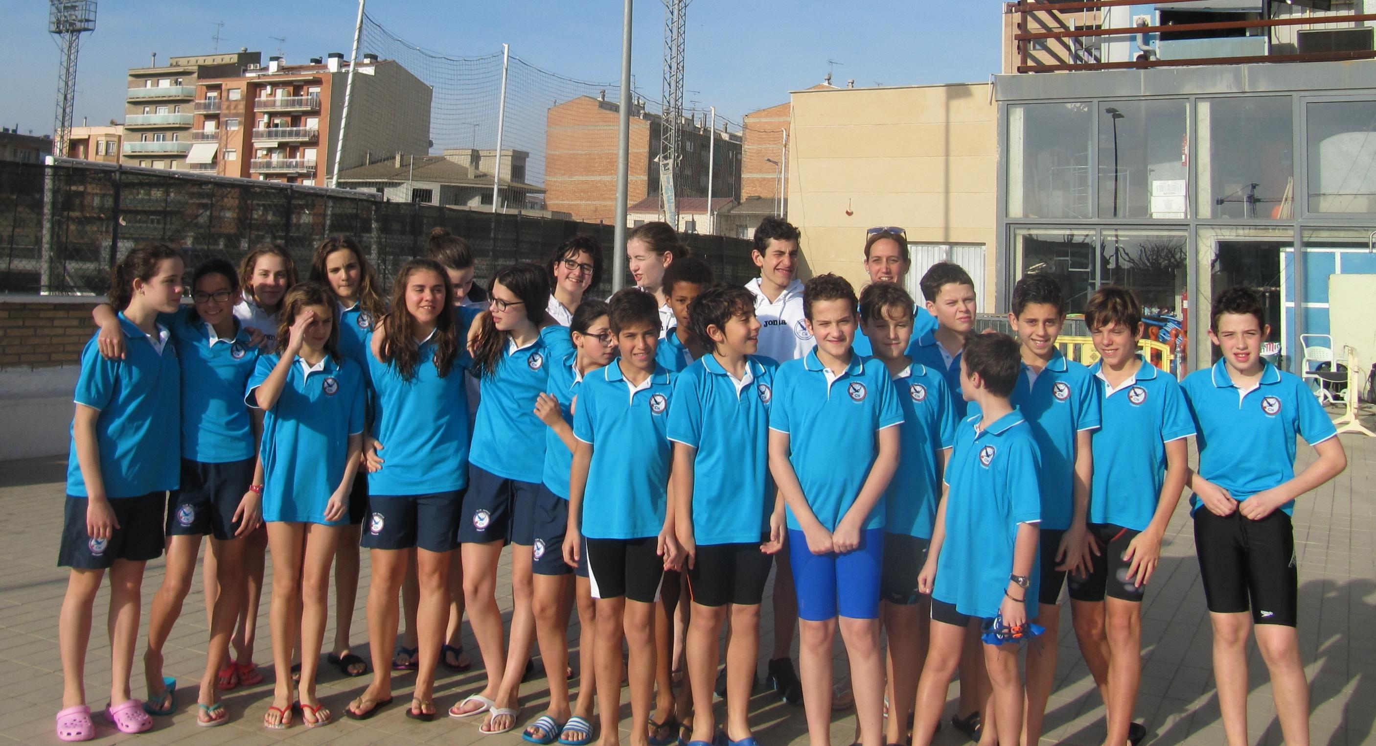 Els Alevins del Club Natació Tàrrega obtenen sis podis a Balaguer