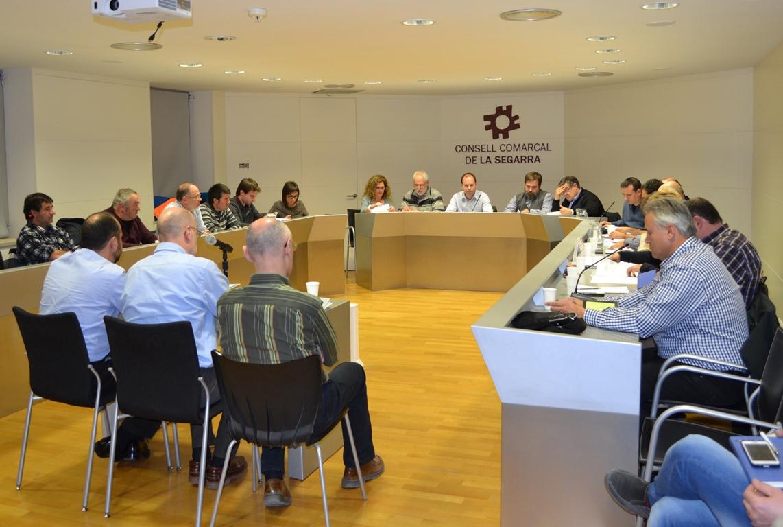 El Consell Comarcal aprova el pressupost per al 2016 i el conveni que estipula el nou sistema tarifari de l'aigua