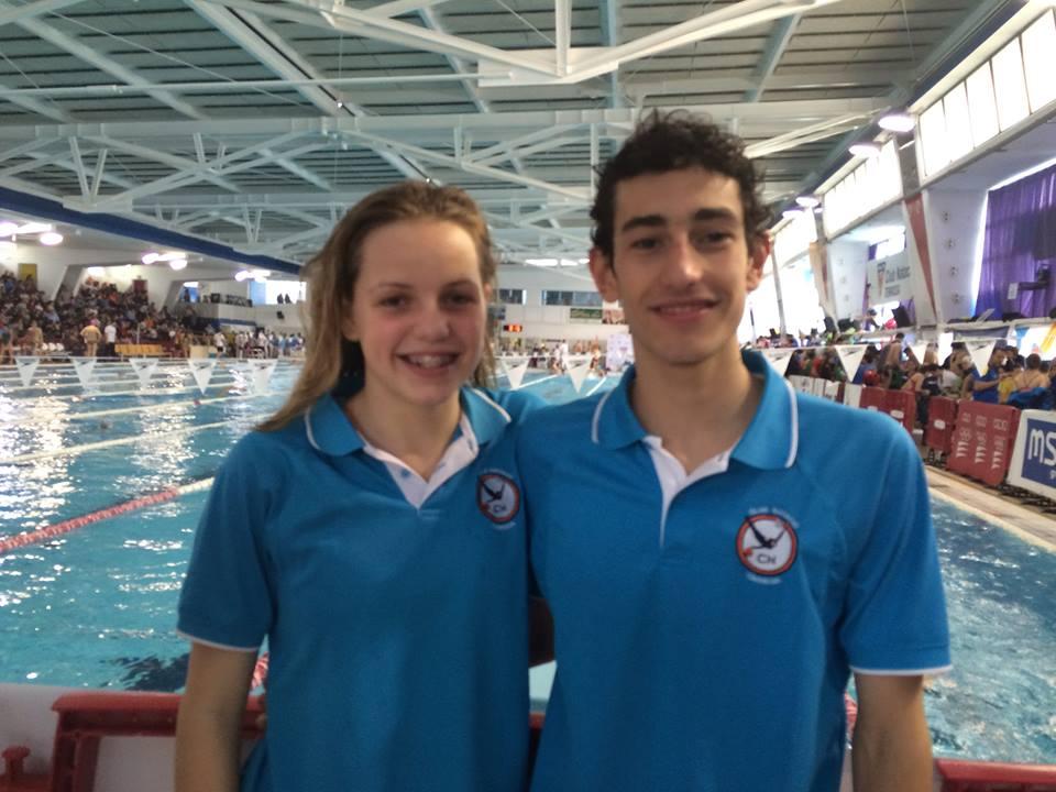 Bon paper de la nedadora del Club Natació Tàrrega, Carla Torra, al Campionat d'Espanya Infantil d'Hivern a Terrassa
