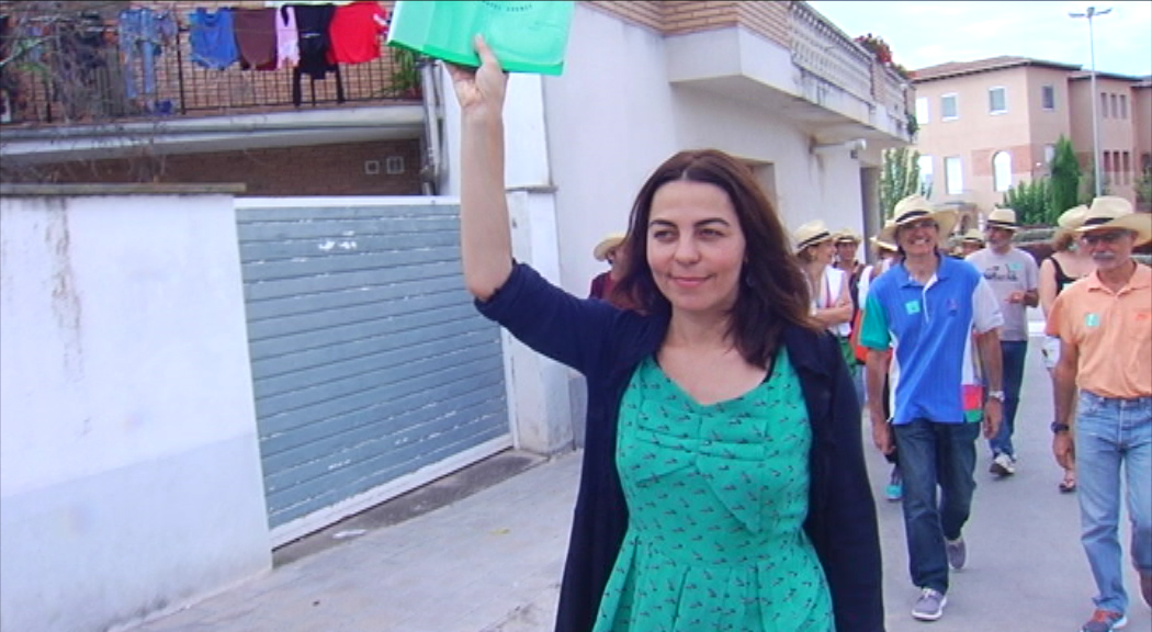 Surten 14 autocars des de Tàrrega cap a la manifestació de Barcelona