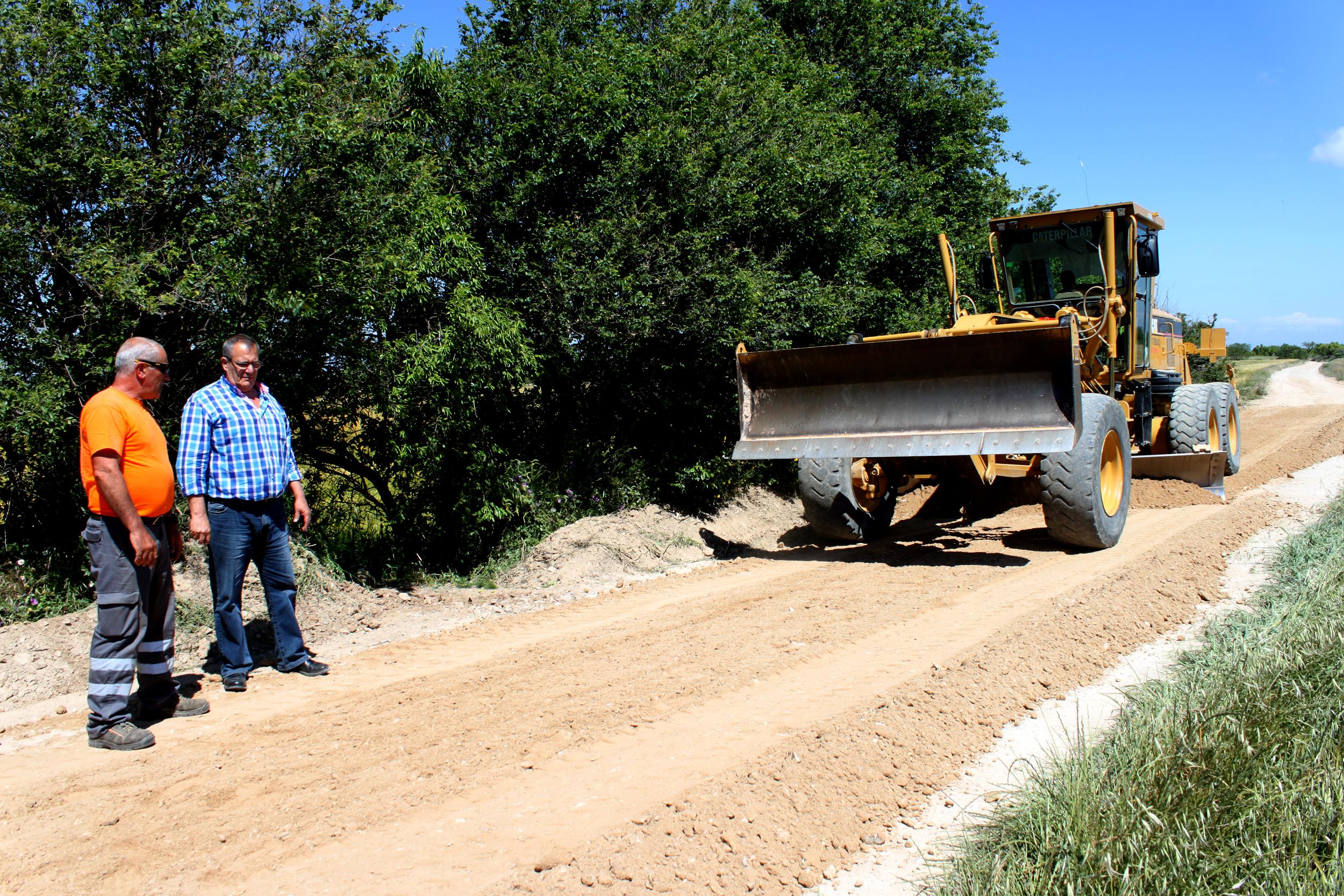 Tàrrega repara els camins rurals del terme amb una inversió de 30.000 euros