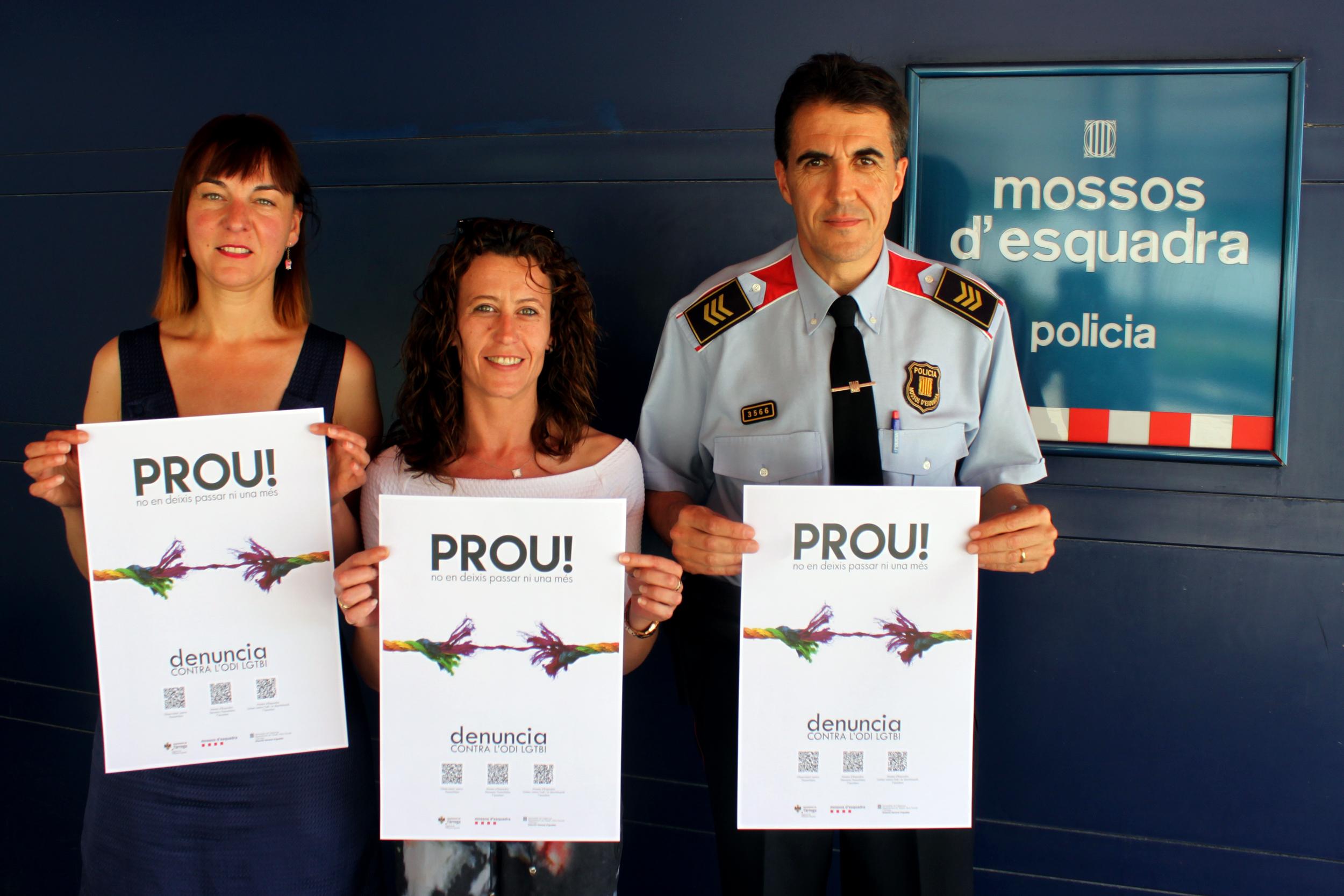 Tàrrega impulsa una campanya de sensibilització contra l'odi i la discriminació vers les persones LGTBI