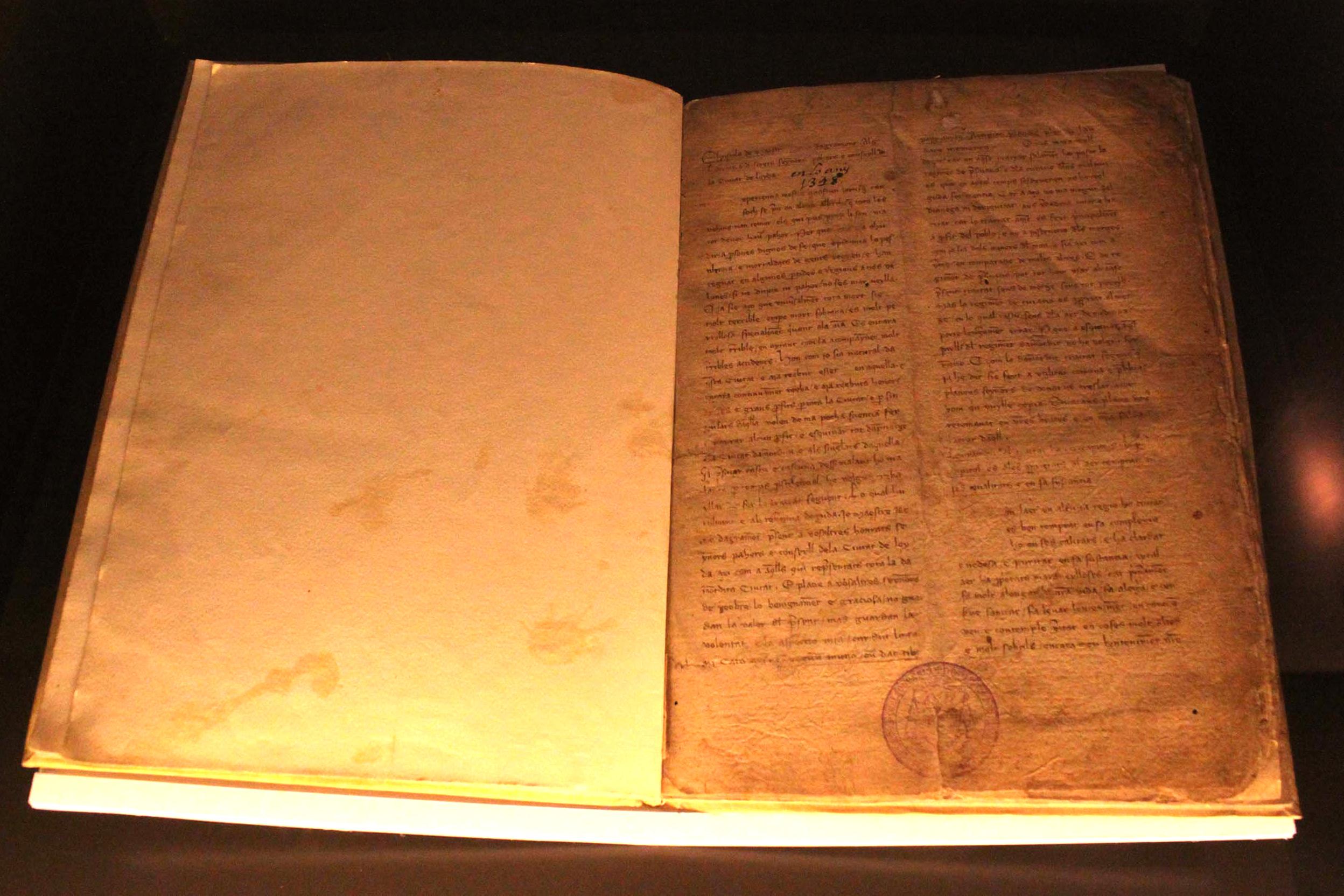 Tàrrega edita una actualització del primer llibre escrit en català sobre el tractament de la pesta, original de l'any 1348