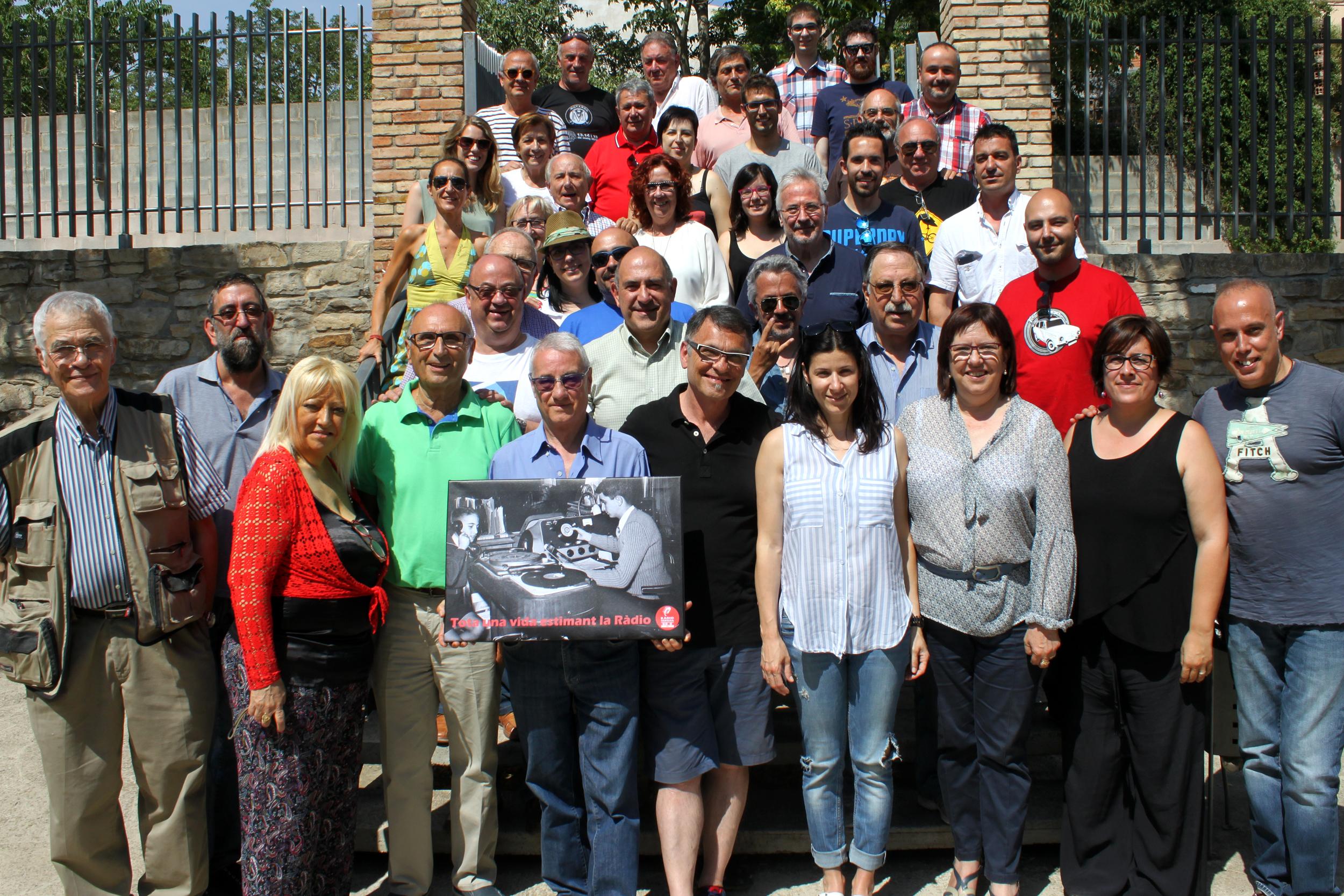 L'emissora municipal Ràdio Tàrrega homenatja Josep Maria Gràcia, una de les seves veus històriques