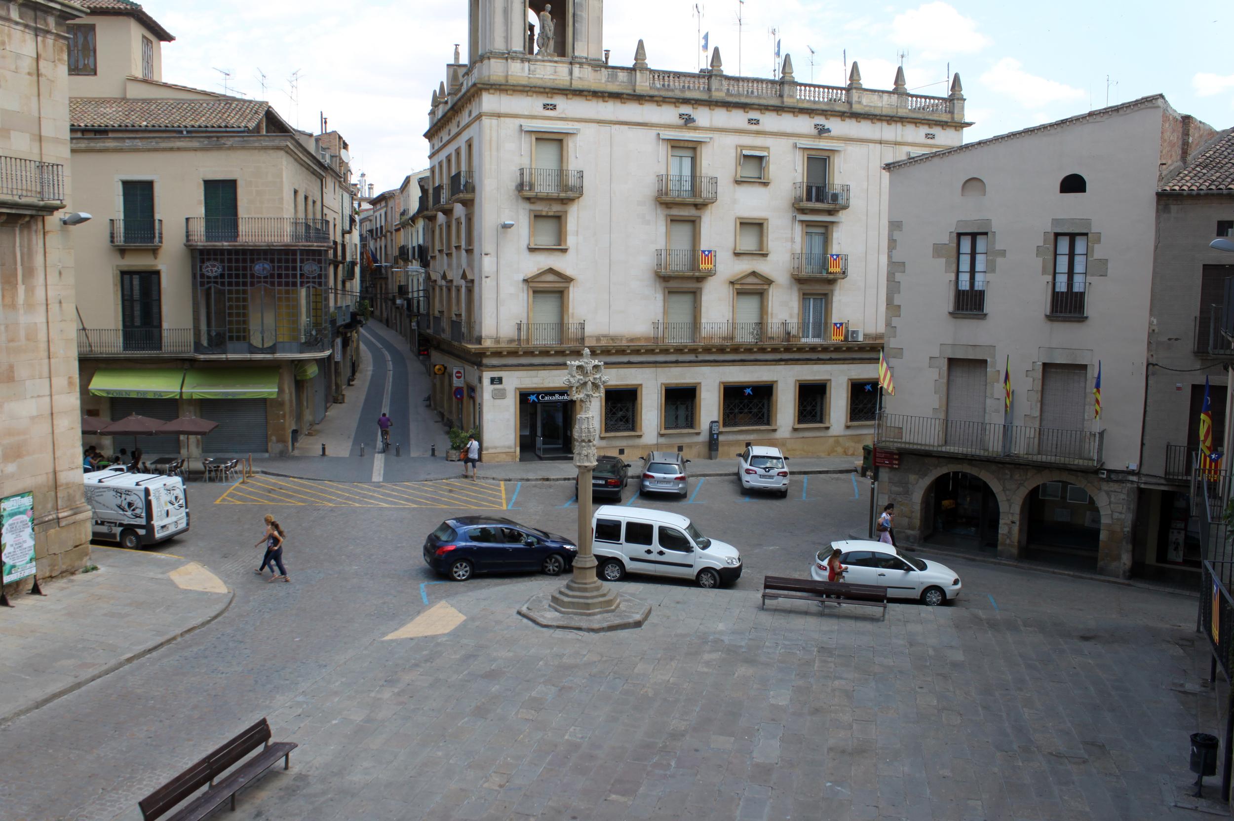 La reforma del carrer Urgell de Tàrrega, que s'iniciarà a finals d'any, servirà també per avaluar la vianalització de la plaça Major