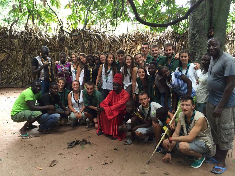 Els Trucs de l'Agrupament Escolta Roger de Llúria de Tàrrega fan una estada al Senegal