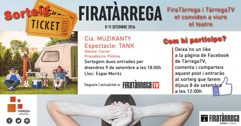 concurs FiraTarrega Tank