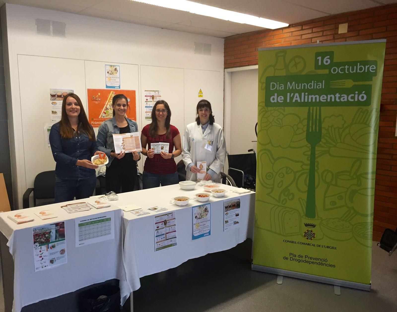 Activitats a Tàrrega envers el Dia Mundial de l'Alimentació