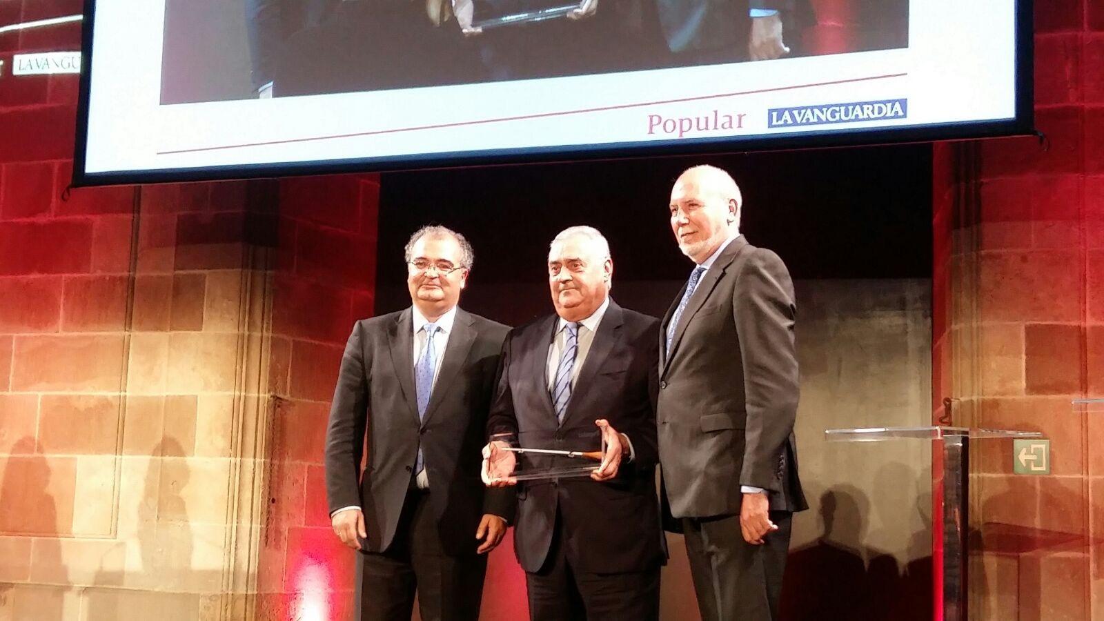 Torrons Vicens ha estat guardonada amb el premi Aster de Trajectòria Empresarial en la categoria de Pimes atorgat per l'Escola de negocis ESIC