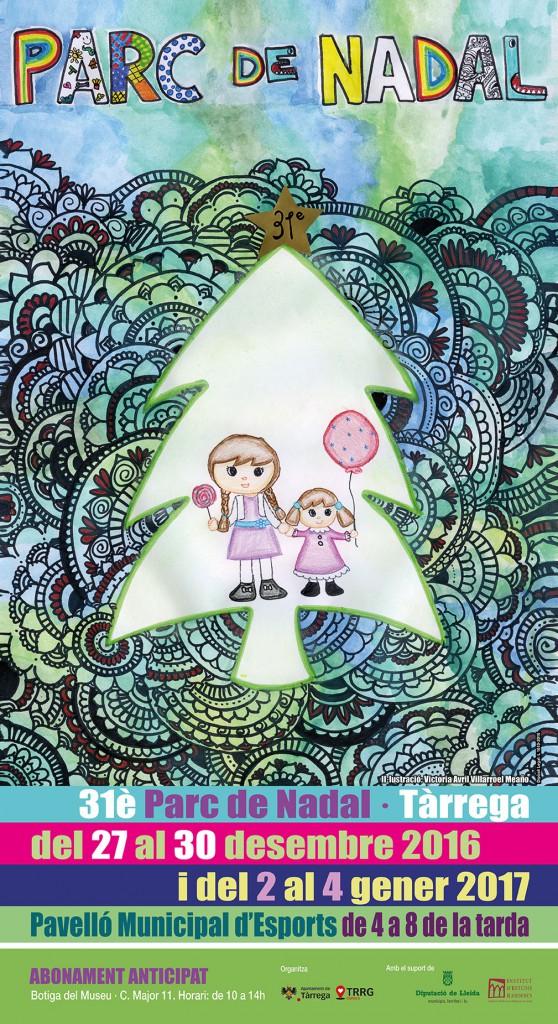 cartell parc de nadal