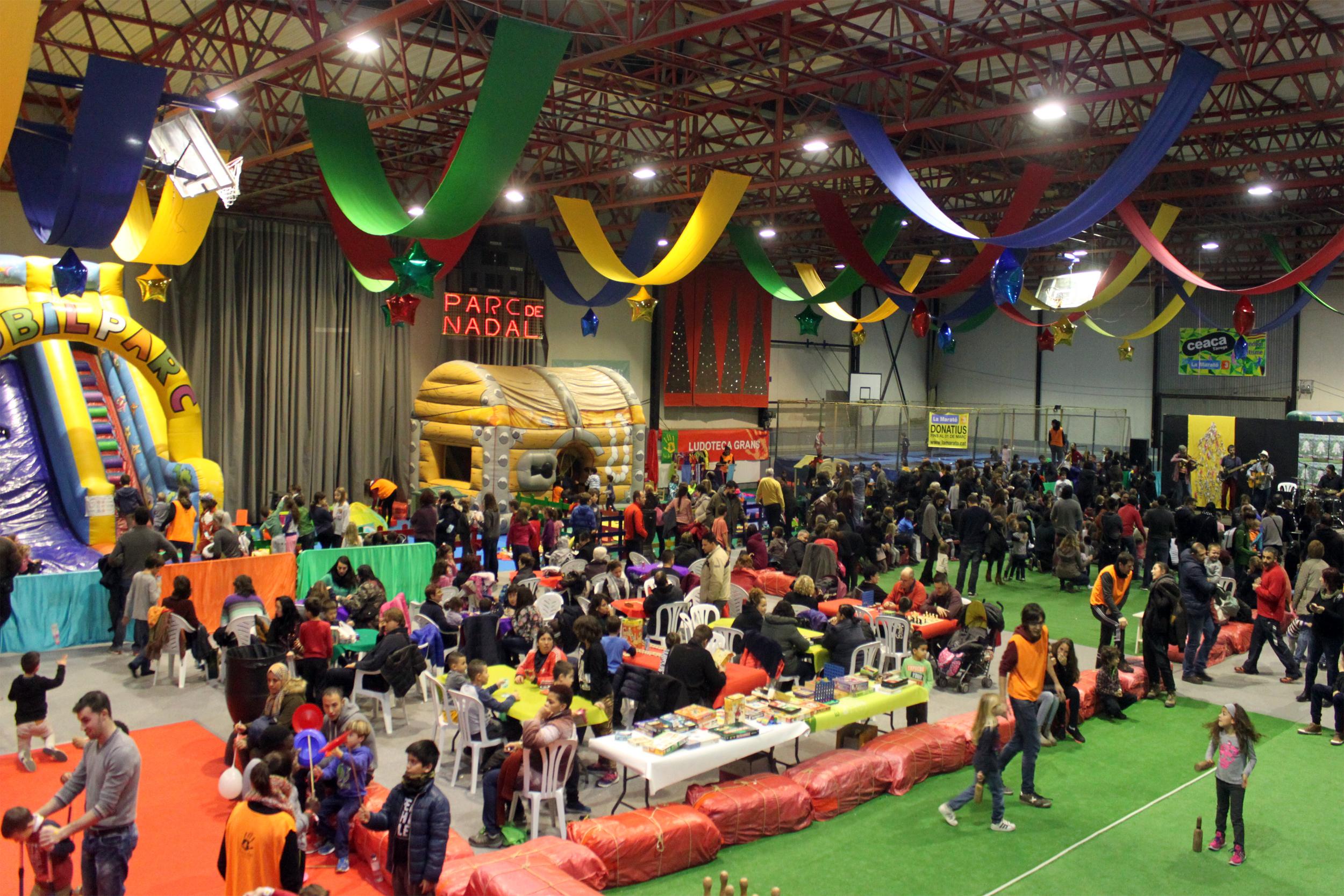 El 31è Parc de Nadal de Tàrrega rep 11.000 visitants i consolida amb èxit la seva ubicació al Pavelló Municipal d'Esports