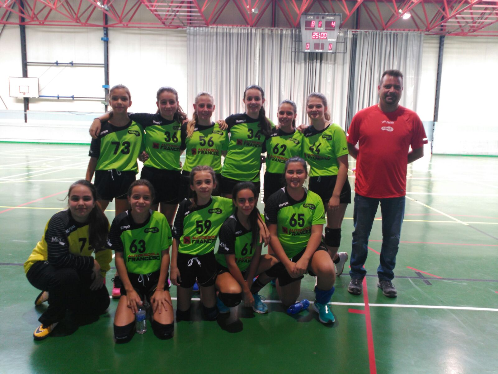 Els equips d'Handbol del CEACA Tàrrega comencen amb bon peu la temporada
