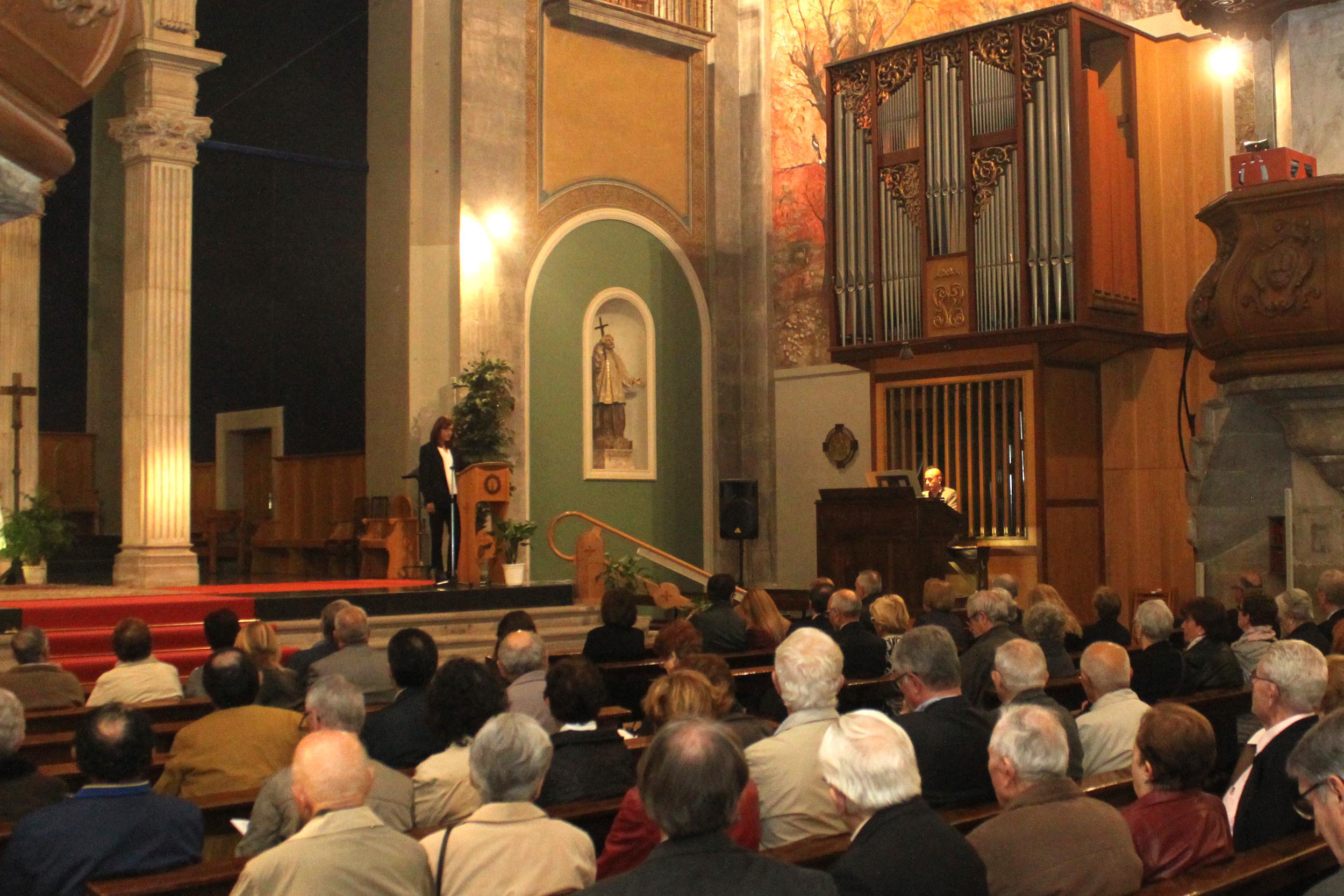 Tàrrega celebra amb èxit un dels concerts del Festival Orgues de Ponent