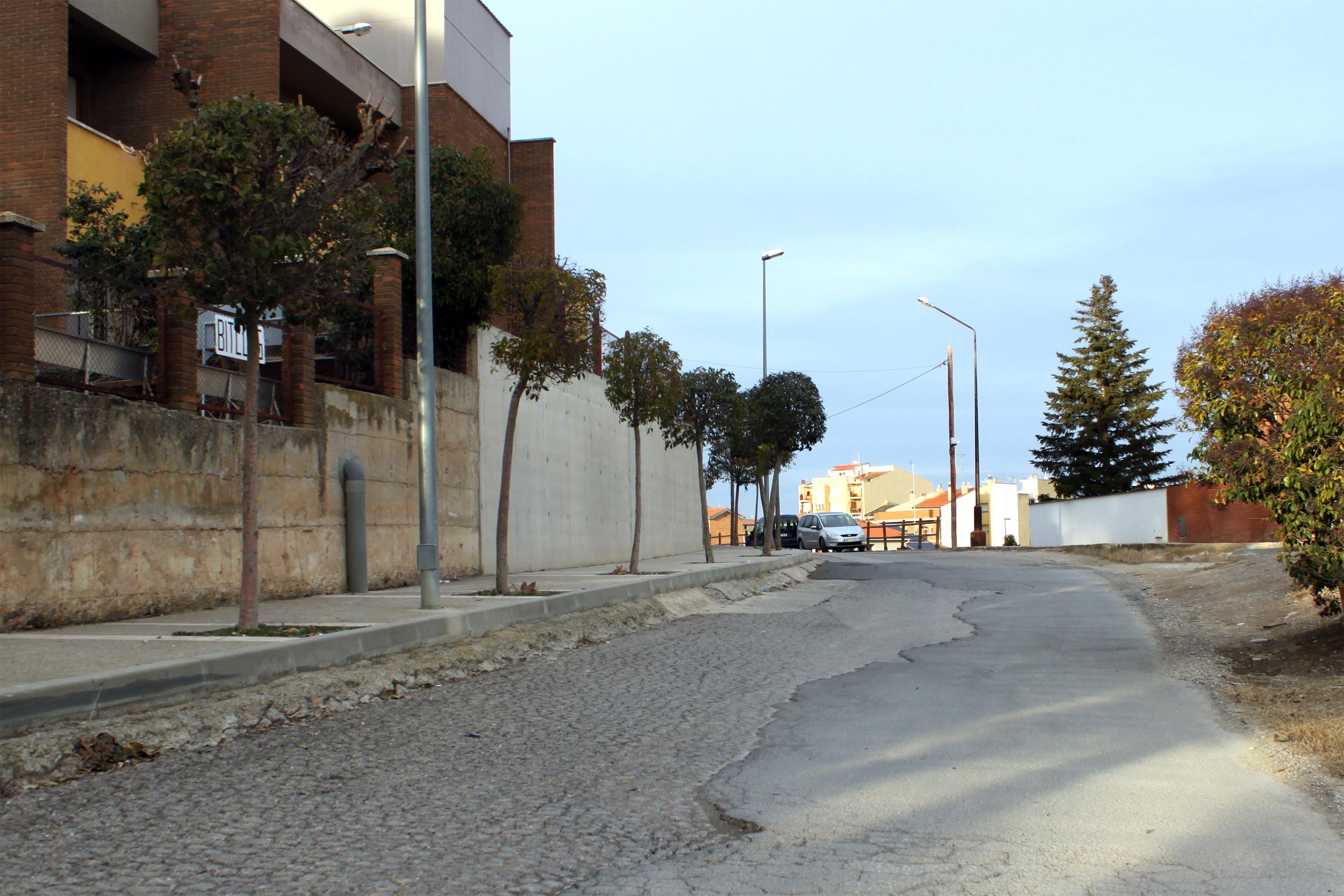 L'Ajuntament de Tàrrega aprova el projecte per renovar el carrer de La Pau, vial que circumval·la el nucli urbà vora el Parc de Sant Eloi
