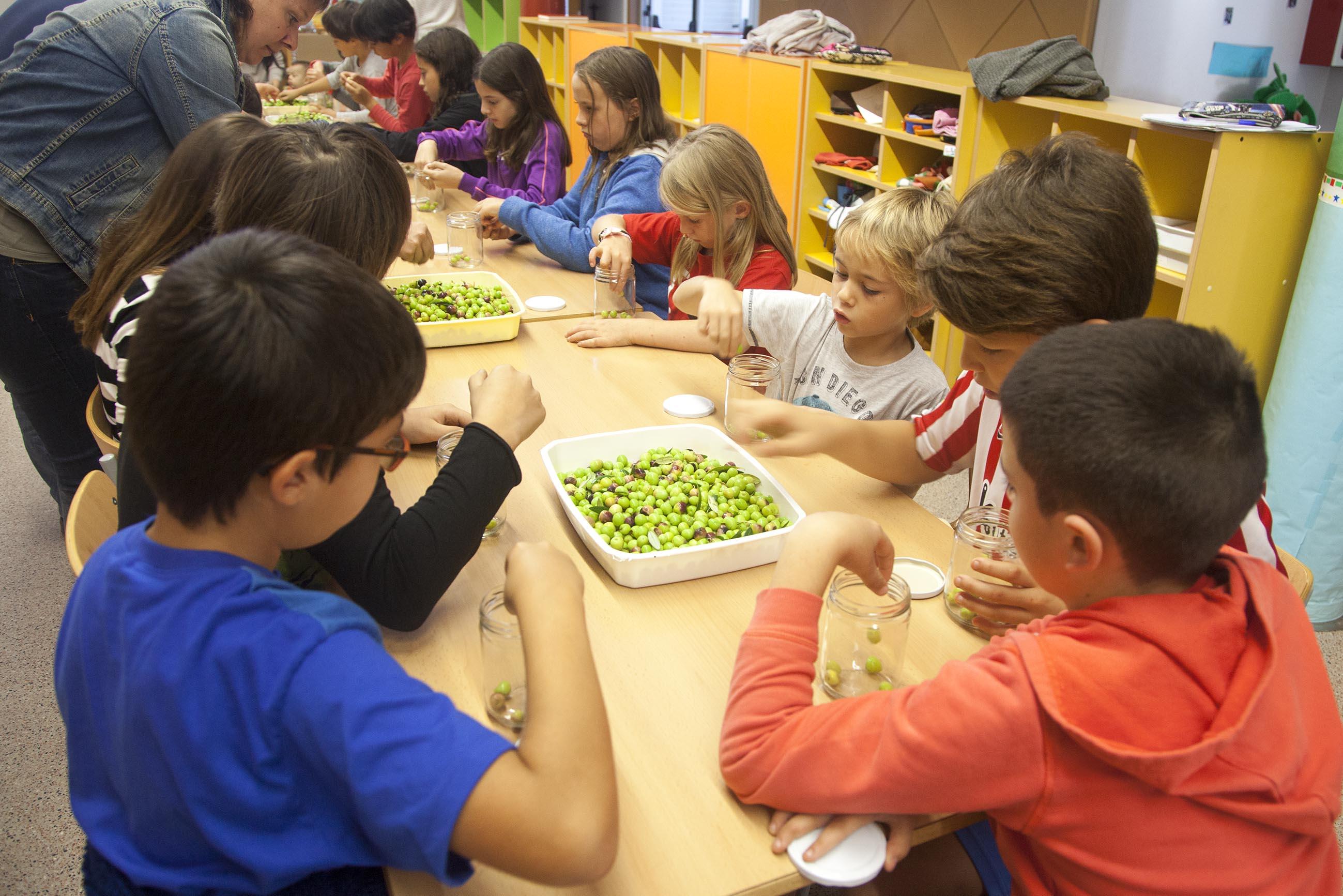 Preixana promou els productes alimentaris de proximitat entre els escolars