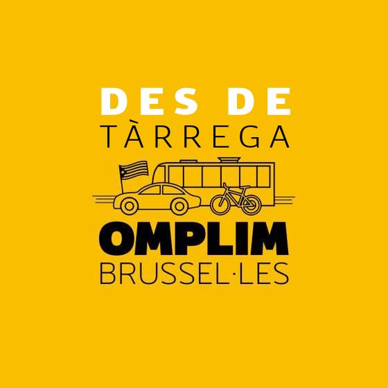 L'ANC organitza autobusos a Brussel•les des de Tàrrega