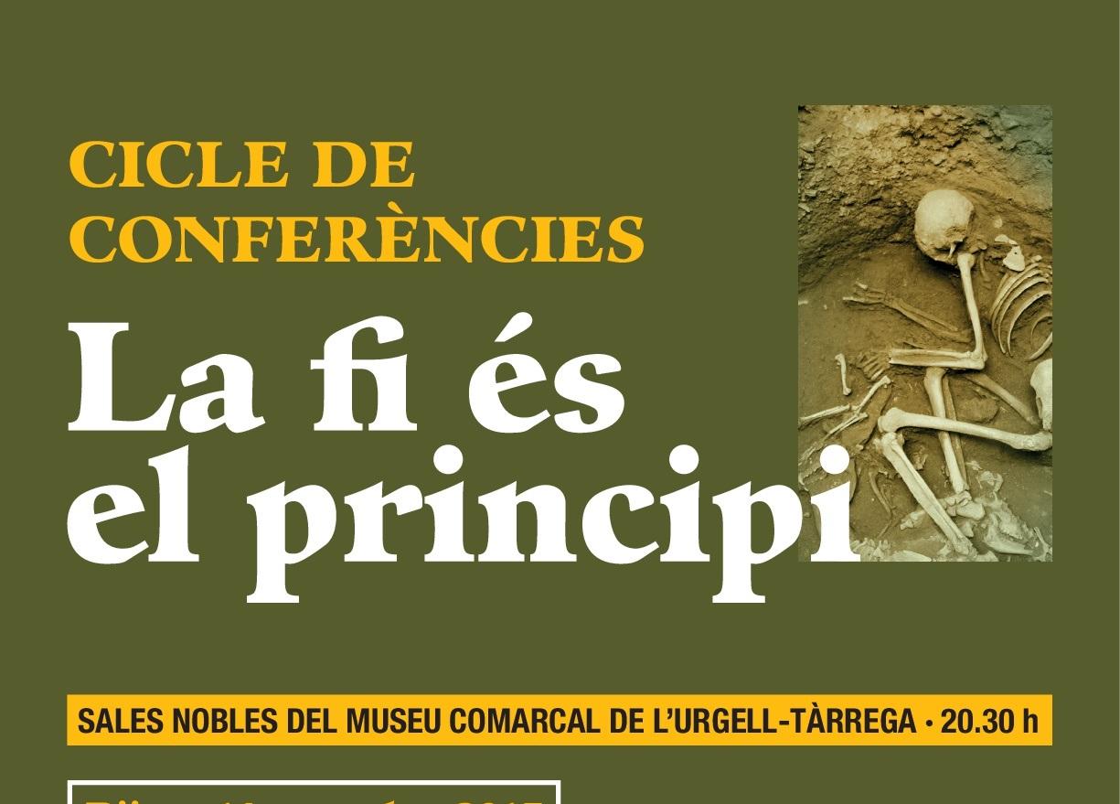 Divulgació arqueològica a Tàrrega amb un cicle de conferències sobre ritus funeraris de la prehistòria