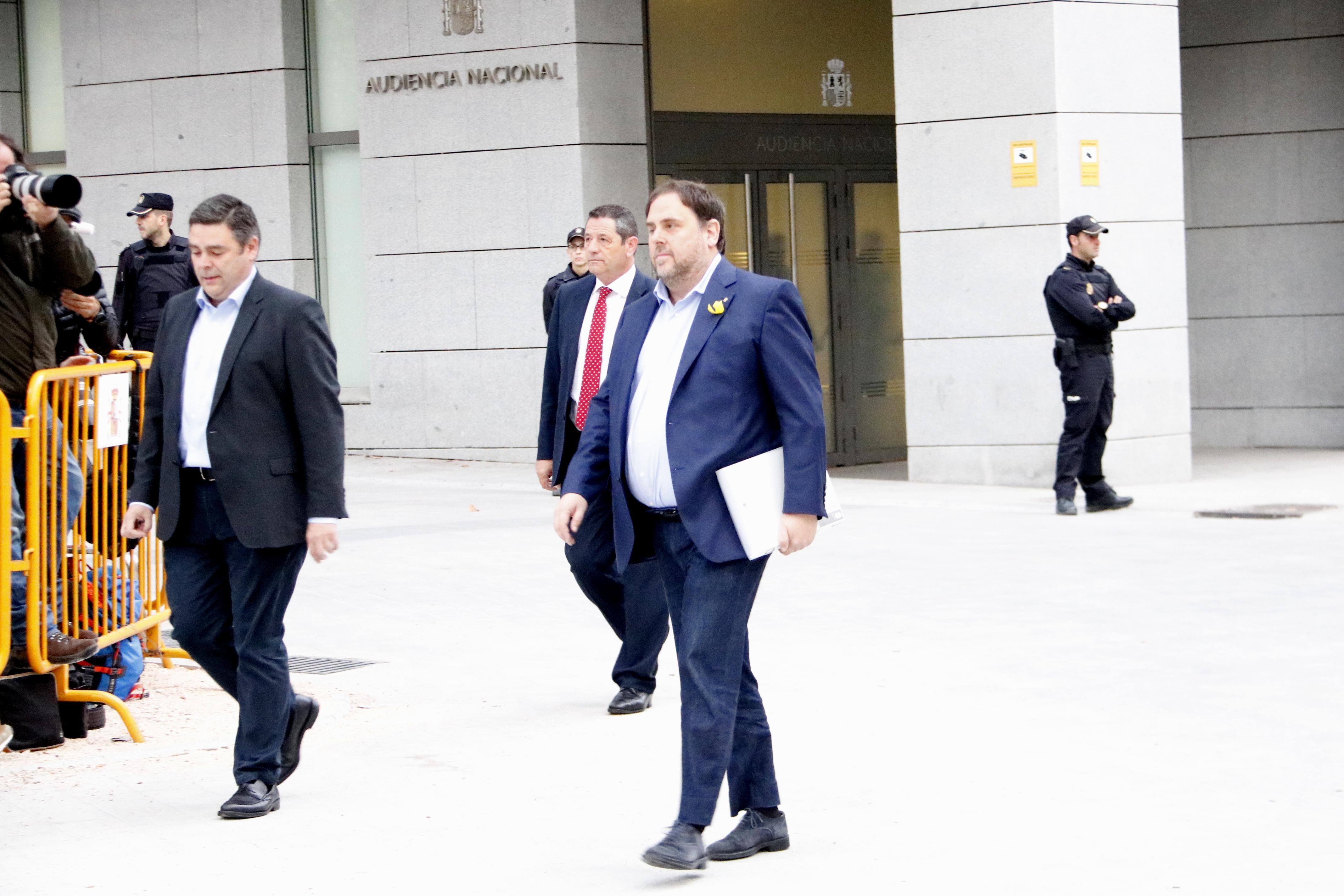 La Fiscalia demana presó incondicional per a tots els consellers destituïts i eludible amb fiança per a Santi Vila