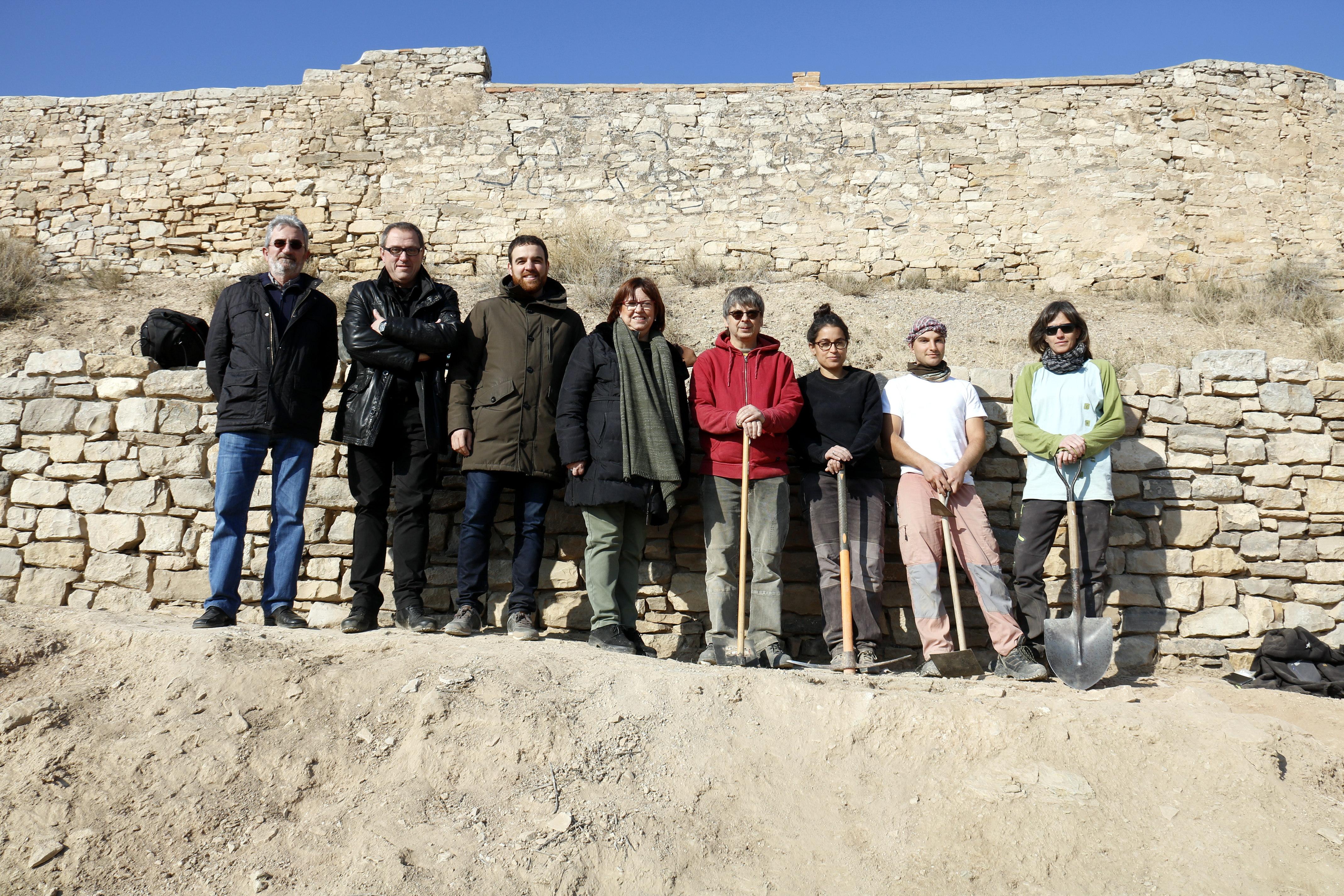Nova campanya d'excavacions arqueològiques a la zona del castell medieval de Tàrrega