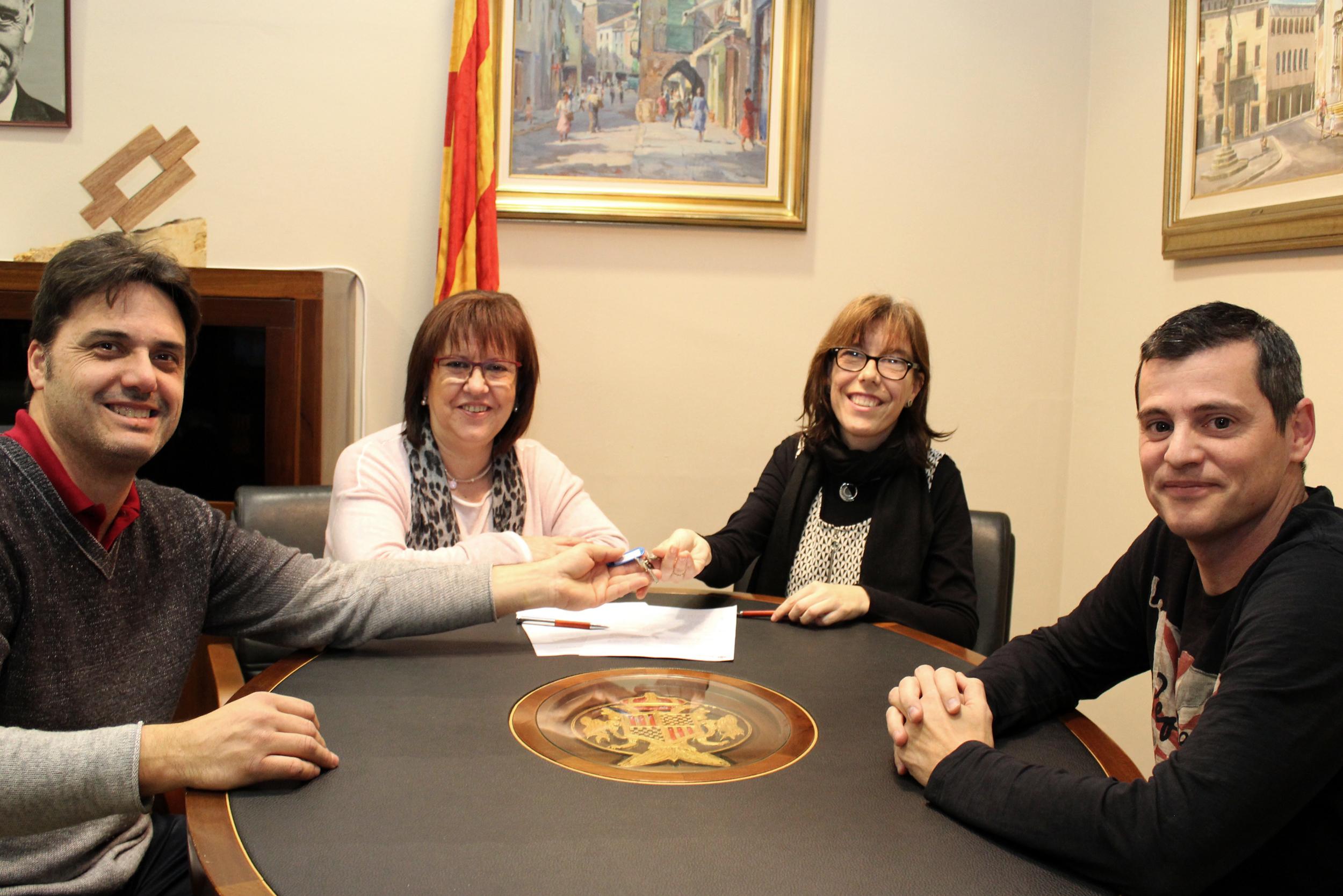 L'Ajuntament de Tàrrega cedeix un local municipal a l'Associació de Paraplègics i Discapacitats Físics de Lleida (ASPID)