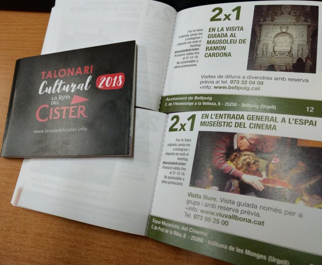 Talonari Cultural de La Ruta del Cister