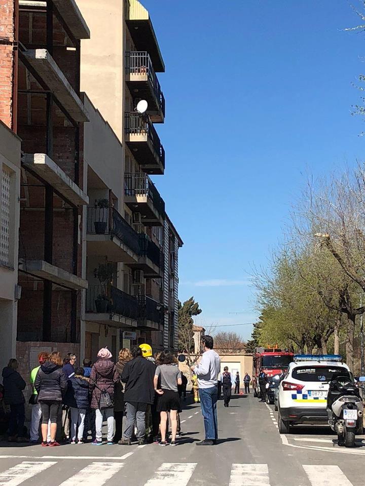 Una trentena de veïns d'un edifici de Tàrrega desallotjats per una falsa alerta de fuita de gas