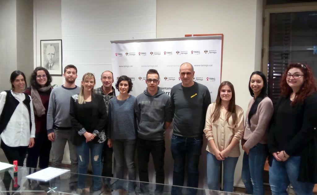 Alguns dels participants del programa Integrals a Tàrrega