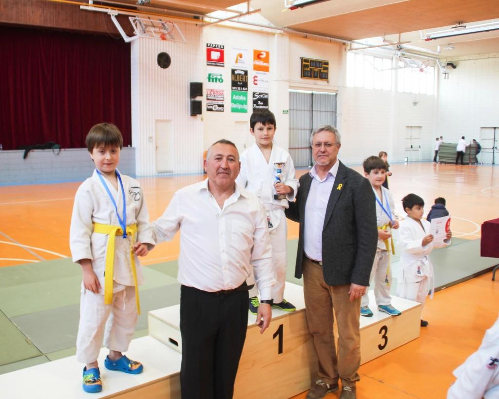 XXXIV Trofeu Judo Vila de Bellpuig Lliurament de trofeus