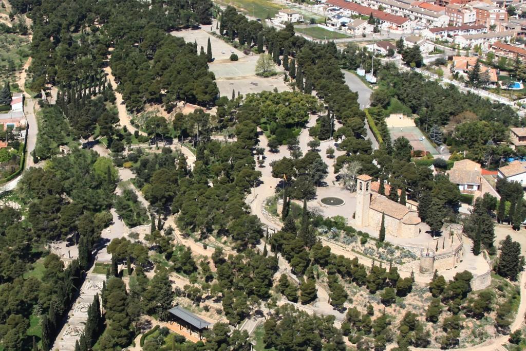 Imatge aèria del Parc de Sant Eloi · Tàrrega