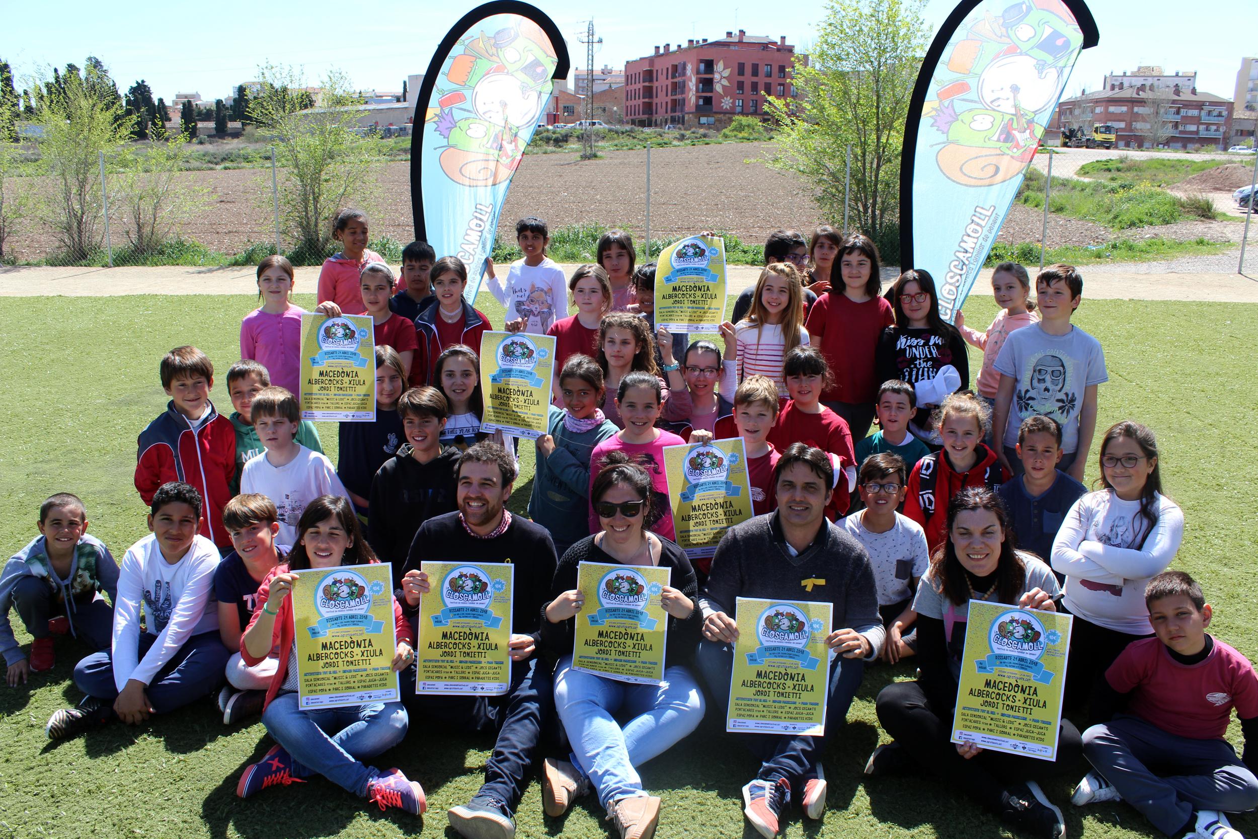 Les Macedònia cap de cartell del Festival de Música Familiar Lo Closcamoll a Tàrrega el disabte 21 d'abril