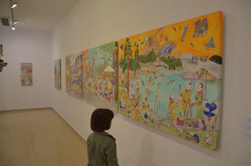 Tallers i visites a l'Espai Guinovart i a la casa Lo Pardal d'Agramunt, per als alumnes de 12 anys de l' Urgell