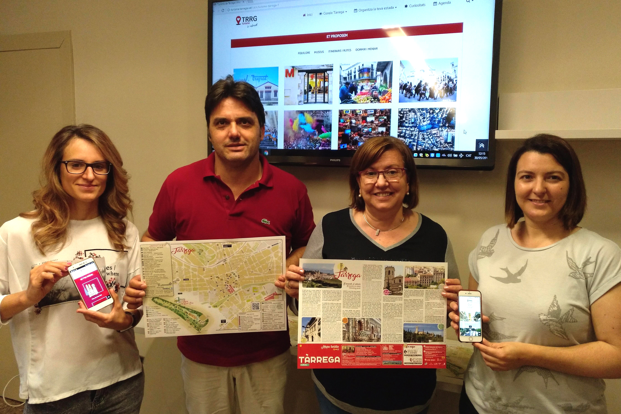 L'Ajuntament de Tàrrega posa en marxa una nova pàgina web que potencia els atractius turístics de la ciutat