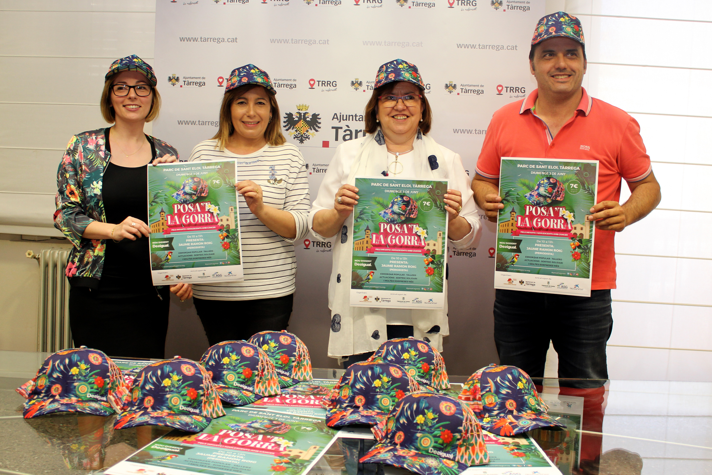 """Tàrrega celebrarà una nova edició de la festa solidària """"Posa't la Gorra"""" contra el càncer infantil el diumenge 3 de juny"""