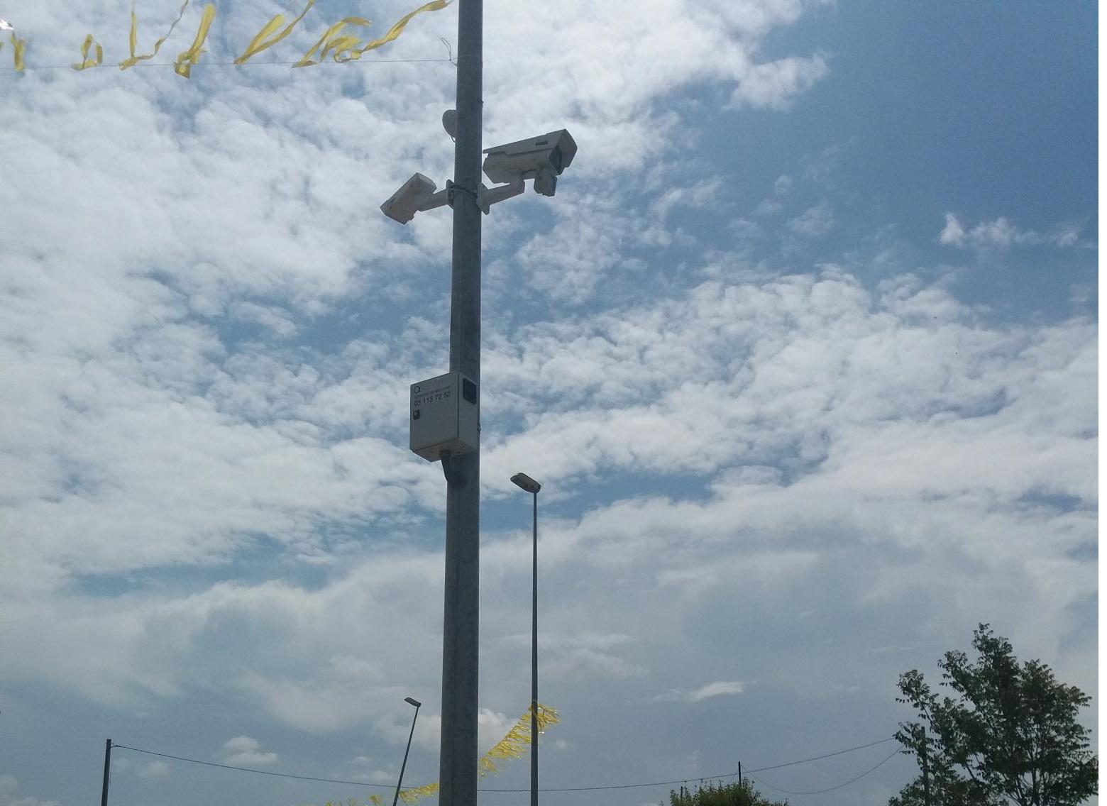 Les càmeres amb lectors de matricules a Guissona desarticulen les bandes de robatoris al municipi.