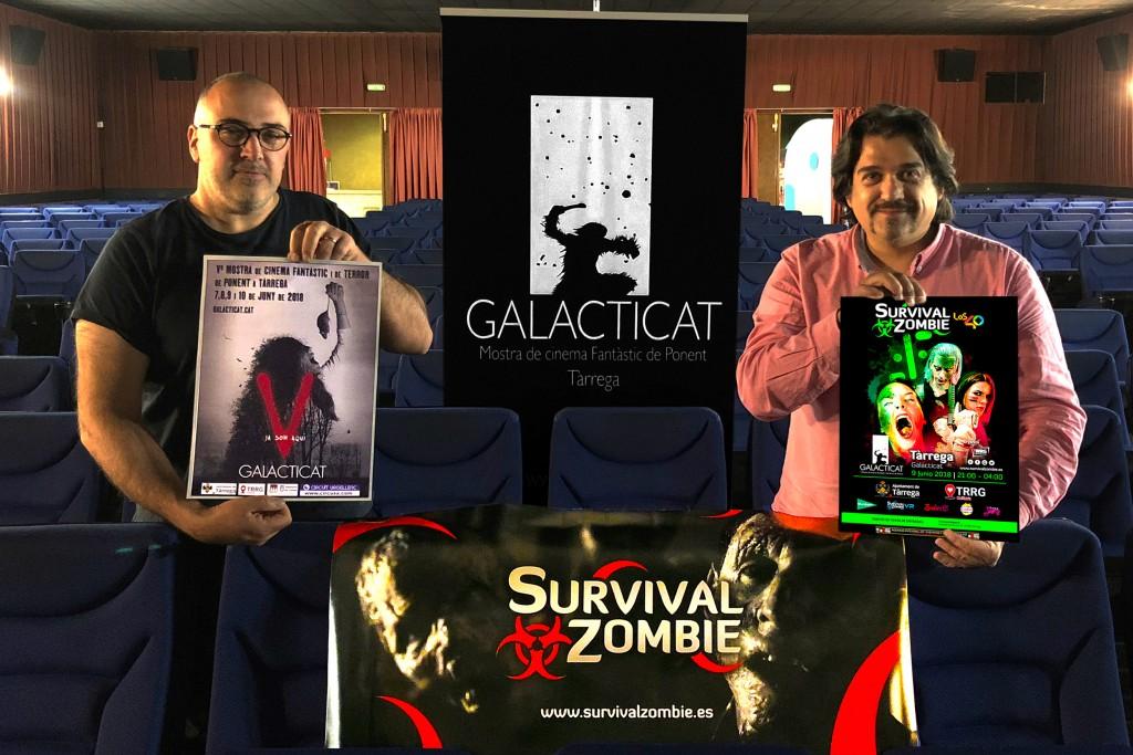 Presentació de la 2a Survival Zombie a Tàrrega