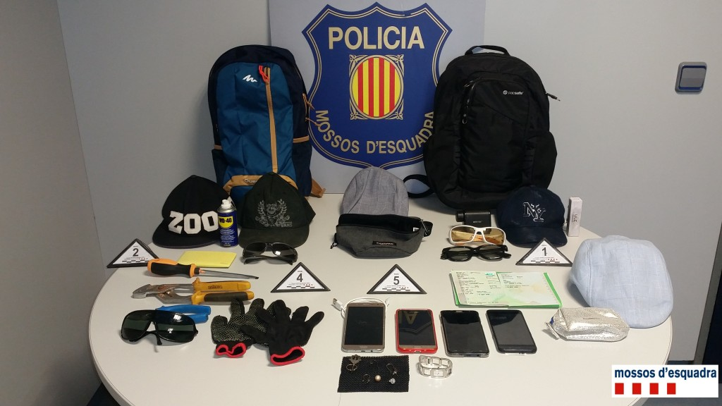180709 NdP 060-RPP Dos detinguts robatoris Urgell i Noguera